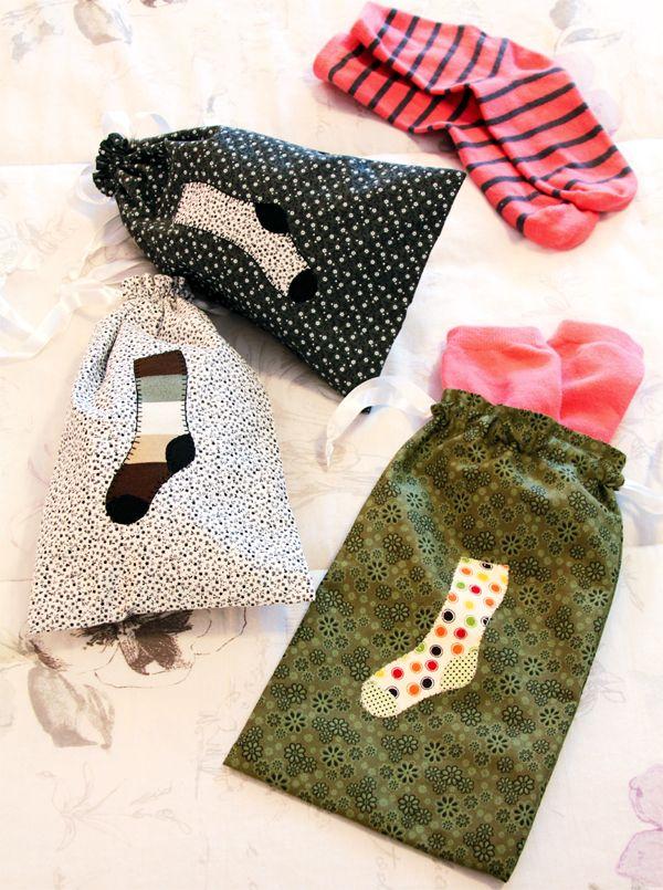 Saquinhos para meias