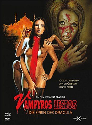best erotic horror films - http://johnrieber.com/2015/05/19/legendary-sex-kitten-soledad-miranda-ecstasy-vampyros-lesbos-new-cult-films-releases/