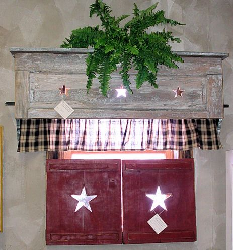 1000 ideas about country window treatments on pinterest window treatments rustic window - Country kitchen windows ...