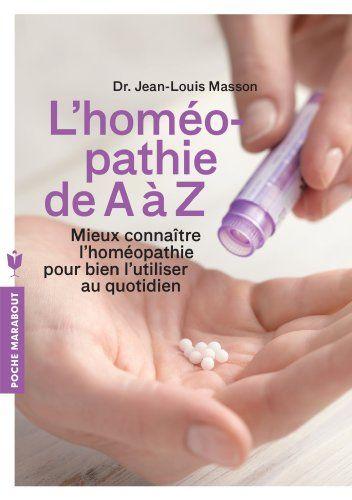 L'homéopathie de A à Z de Jean-Louis Masson