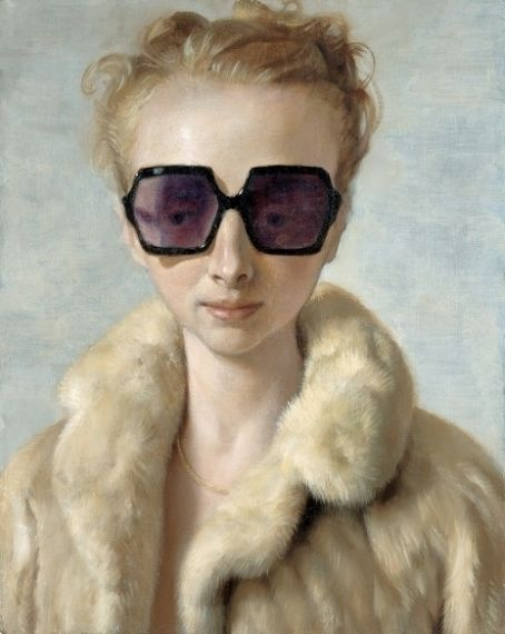 john currin portrait of rachel feinstein