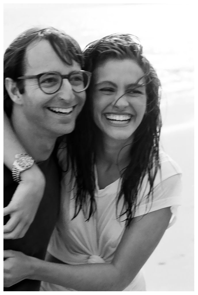 (♥) Herb Ritz and a soaking-wet Julia Roberts between shots, Malibu, Ca 1990: Soaking Wet Julia, Herb Ritts, Herbs, Julia Roberts, Case, 1990, People, Photography