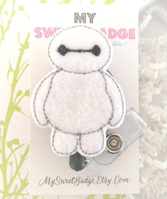 Insignia de identificación de placa Feltie carrete por MySweetBadge
