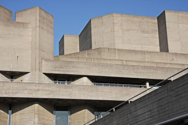 1000 images about denys lasdun on pinterest cambridge for Famous minimalist buildings