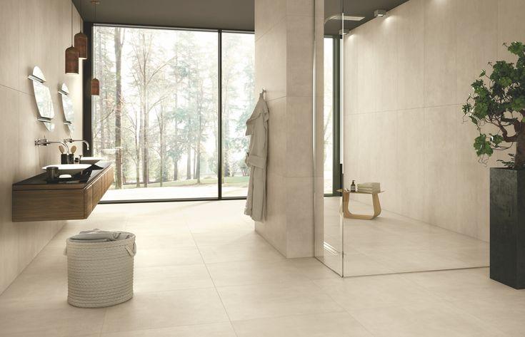 Lastre ceramiche per la zona più intima della casa, dove benessere e cura di sé si incontrano...