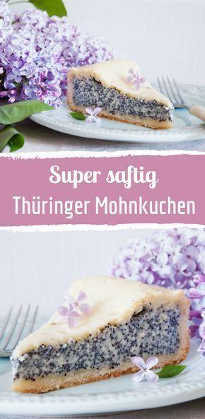 Rezept für Thüringer Mohnkuchen   – Rezepte: Kuchen & Torten