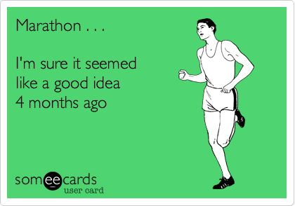 8 things not to say to someone training for a marathon | Half Crazy Mama