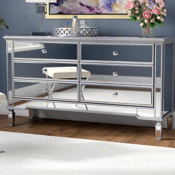 Emerita 6 Drawer Double Dresser Reviews Joss Main Double