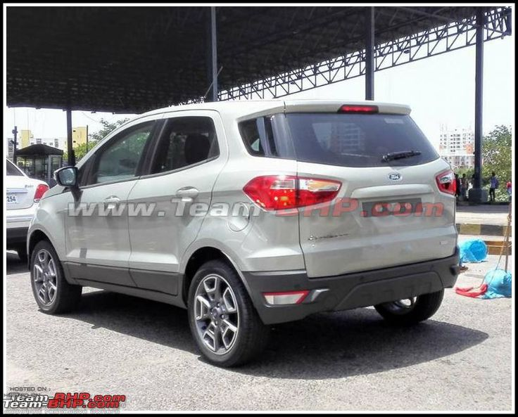 Recap - 2016 #Ford #EcoSport (without external spare wheel) snapped in India – Spied -