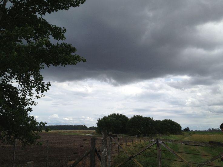 Se viene tormenta