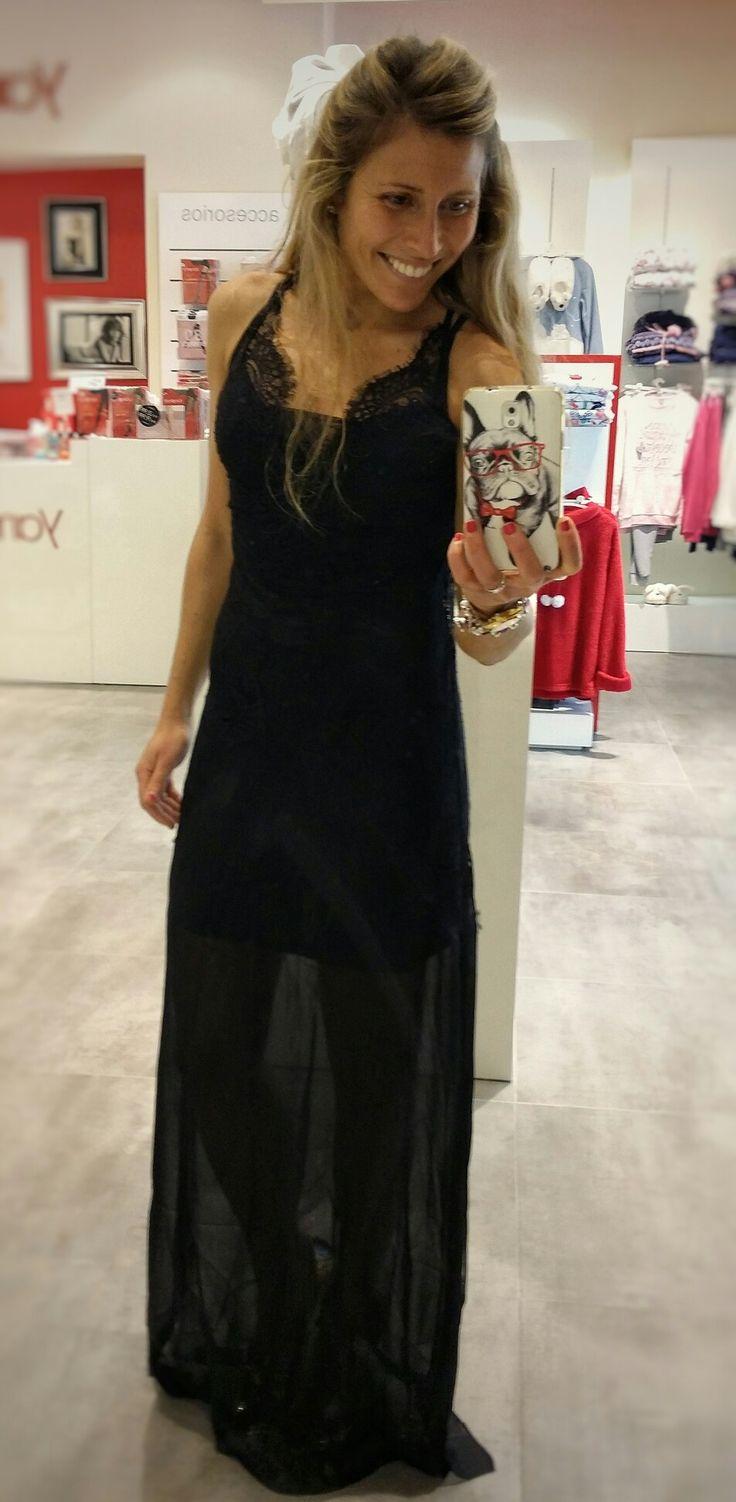 Nigh lignerie dress by #Yamamay. Vestido.de la coleccion Naomi Campbell para Yamamay. Queda perfecto como vestido lencero de.noche. #outfit #night #Yamamay #lignerie #sexydress #milicocinillas #christmasoutfit