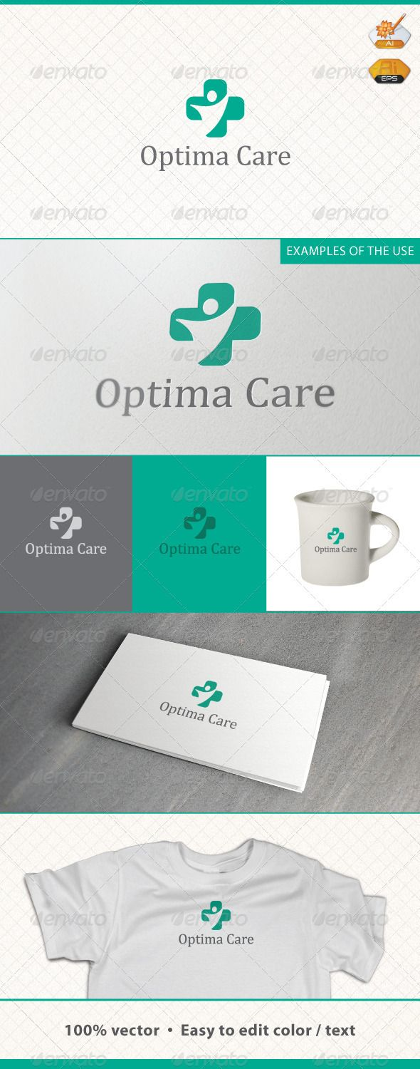 Optima Care Medic Logo Template #GraphicRiver Information AI and EPS Resizable Layered Fully Editable Font: Cambria Math Customization If you have bought a logo form me on GraphicRiver and need some customization (changing color, modifying texts, changing position of elements, remove some element or text), send me e-mail. Customization costs 25$. You can pay by PayPal or Payoneer. Created: 29April12 GraphicsFilesIncluded: VectorEPS #AIIllustrator Layered: Yes MinimumAdobeCSVersion: CS…