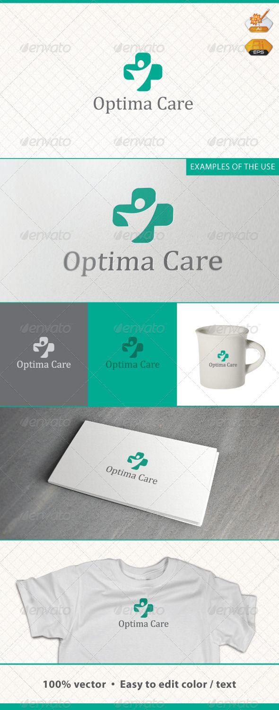 Optima Care Medic Logo Template
