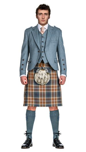 Hunting Manx tartan - perfect for Mr Kelly!