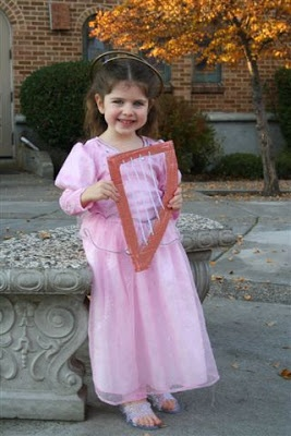 Shower of Roses: Saintly Costumes - St. Cecilia for All Saints