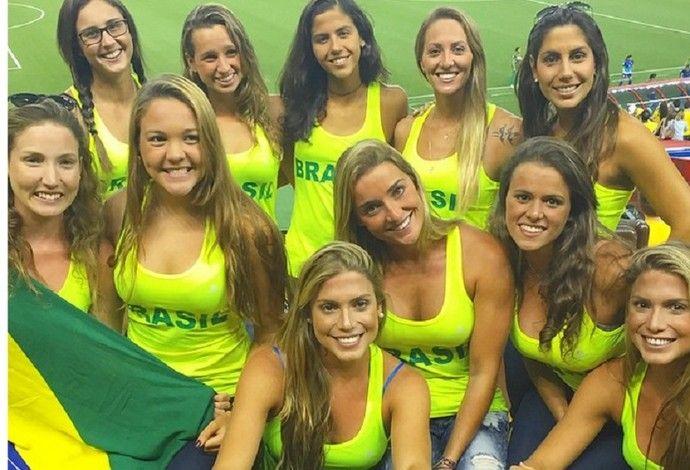 Seleção feminina de nado sincronizado (Foto: Reprodução/Instagram)