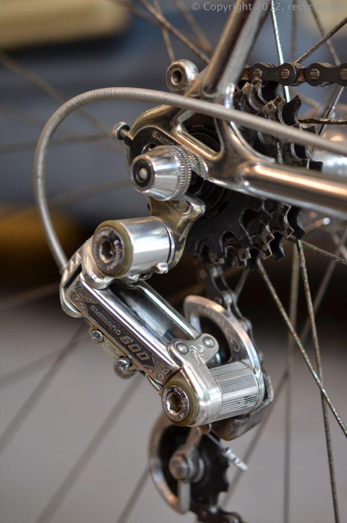 Shimano 600 Arabesque vintage racing bicylcle rear derailleur