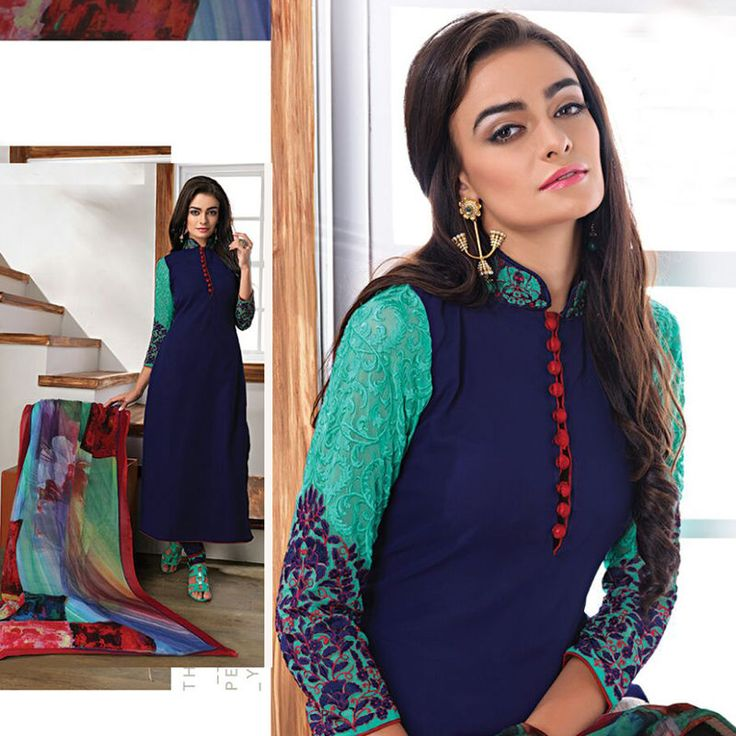 Ethnic Indian Salwar kameez Pakistani Bollywood Designer Freeship Suit Shalwar #Shoppingover #SalwarKameez