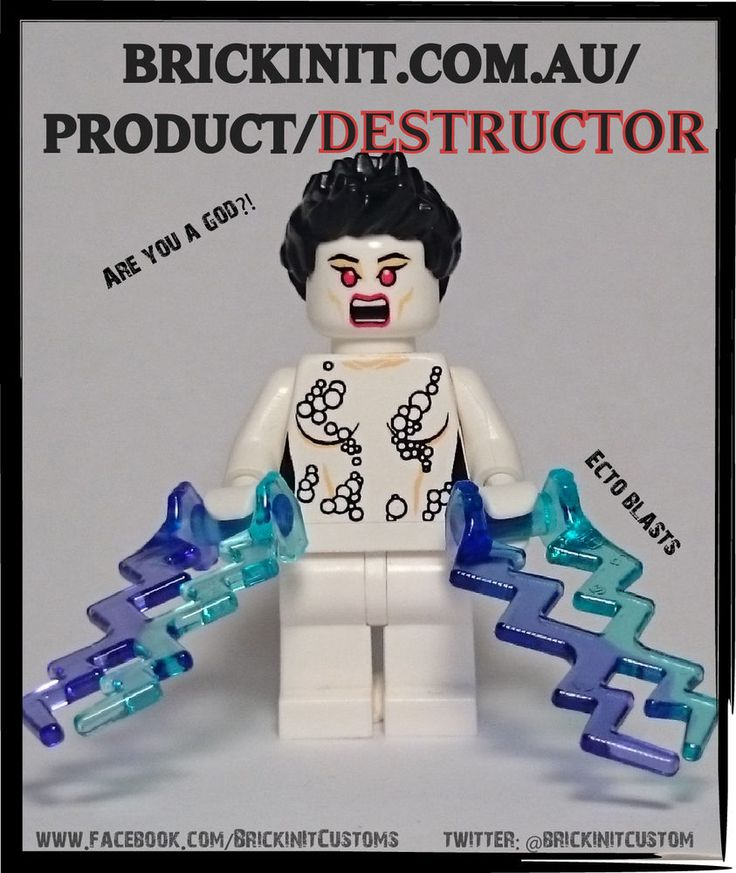Lego Ghostbusters custom inspired Gozer the destructor