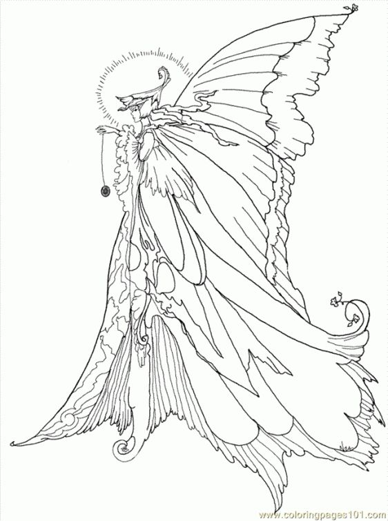 93 best Fantasy Coloring Pages images on Pinterest   Coloring ...