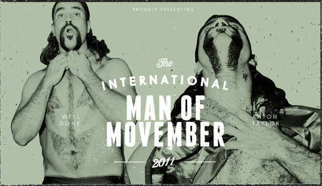 #Movember 2011 International Man of Movember winner
