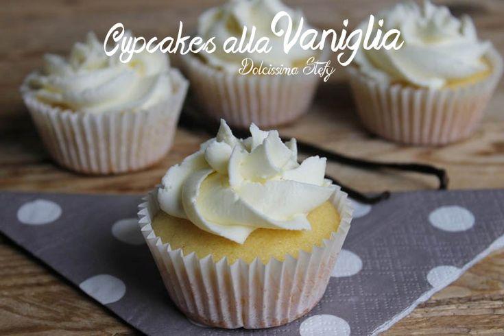Ricette per fare i #cupcakes alla #vaniglia @guarnireipiatti