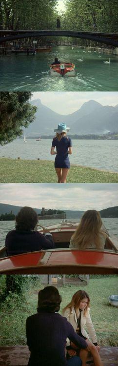 Le genou de Claire (Claire's Knee), 1970 (dir. Éric Rohmer)  Byquello-nello-specchio