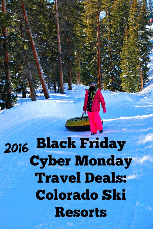 Colorado SKi Resorts Black Friday Cyber Monday Travel Deals