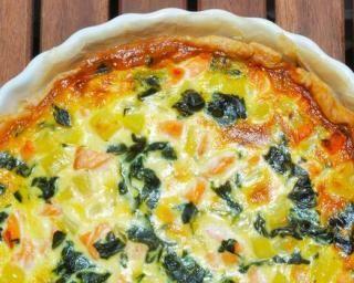 Quiche saumon poireaux allégée : http://www.fourchette-et-bikini.fr/recettes/recettes-minceur/quiche-saumon-poireaux-allegee.html