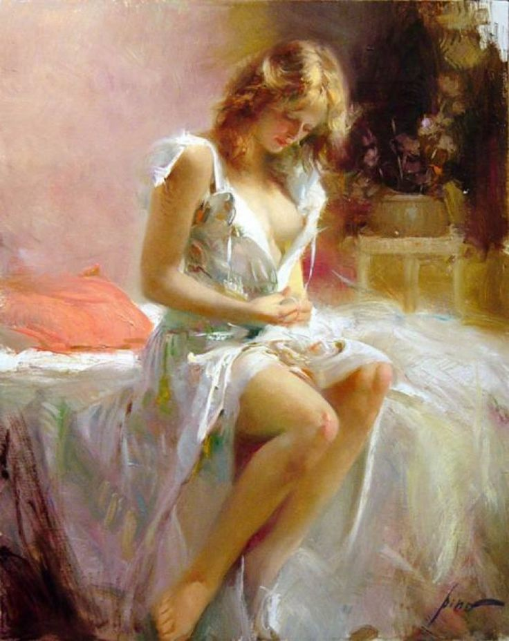 OIL PAINTING, BY PINO DAENI