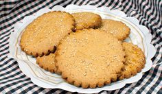 De heerlijke geur van zelfgebakken koekjes is onweerstaanbaar. Zo ook de geur van deze geweldige speltkoeken.  De suiker vervangen door verantwoorde suiker