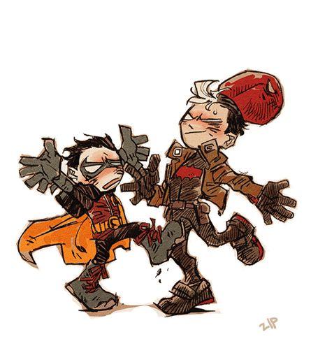 Damian Wayne / Jason Todd duo