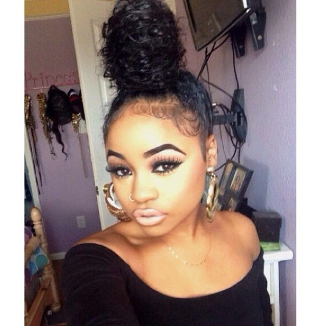 Incredible 1000 Ideas About Ninja Bun On Pinterest Box Braids Poetic Hairstyles For Women Draintrainus