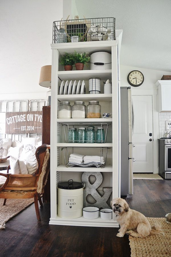 Diy Kitchen Shelves Decorating Pinterest And