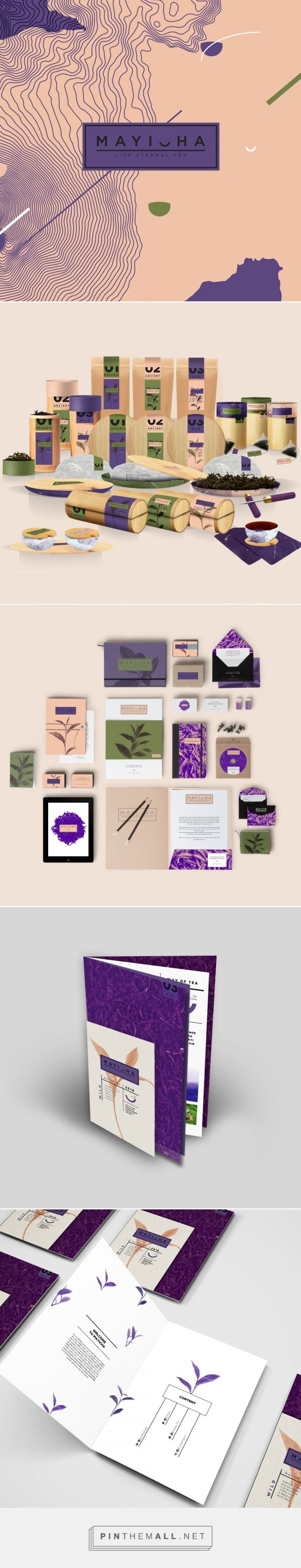 Mayicha Tea Branding and Packaging by Lucie Blazevska | Fivestar Branding Agency – Design and Branding Agency & Curated Inspiration Gallery