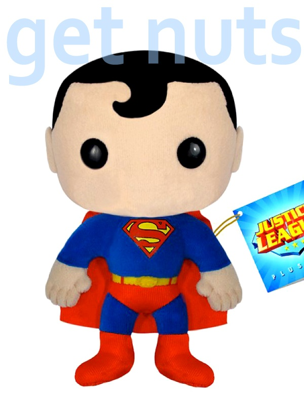google: Doll, Gifts Ideas, Funko Plushie, Justice League, Funko Superman, Superman Plushies, Dc Universe, Superhero, Plush Toys