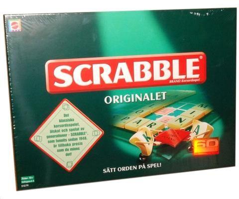 scrabble svenska  eller annat roligt spel