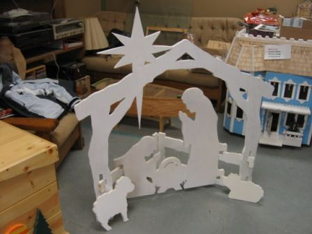 Wooden Cross Patterns Free | Simple Nativity Patterns Combo, Woodworking Plans and Patterns by