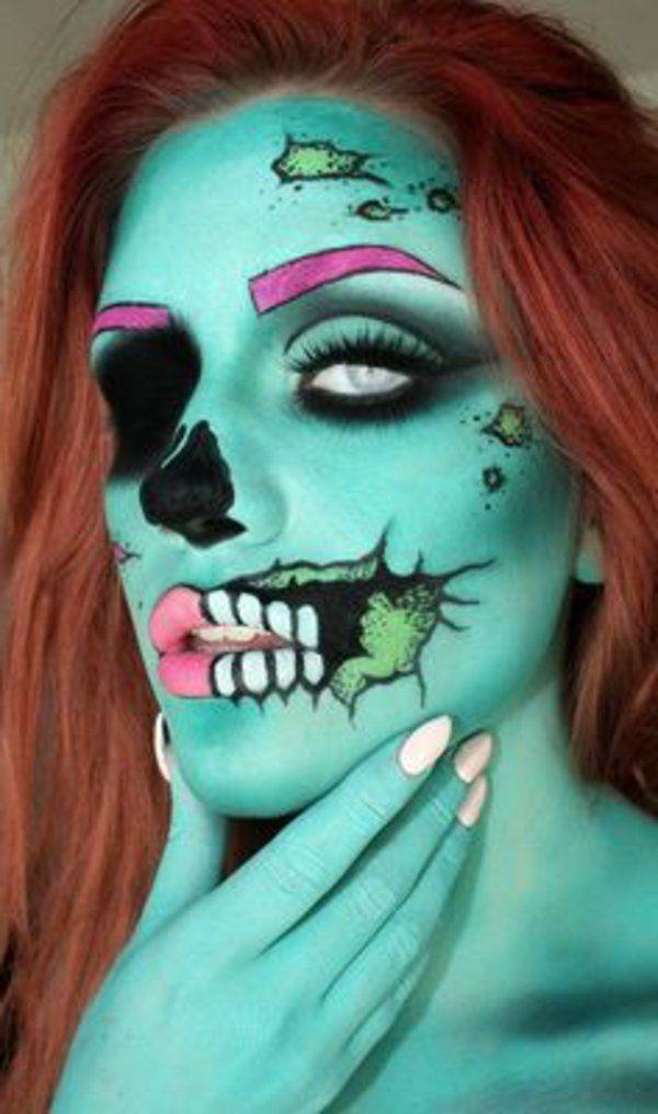 Les 25 meilleures id es de la cat gorie costume vampire qui fait peur sur pinterest maquillage - Maquillage halloween qui fait peur ...