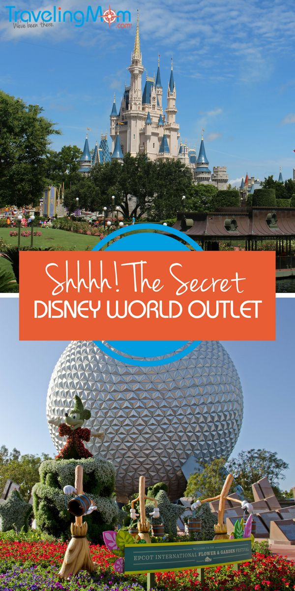 Shhh! The Secret Disney World Outlet right outside the gates!