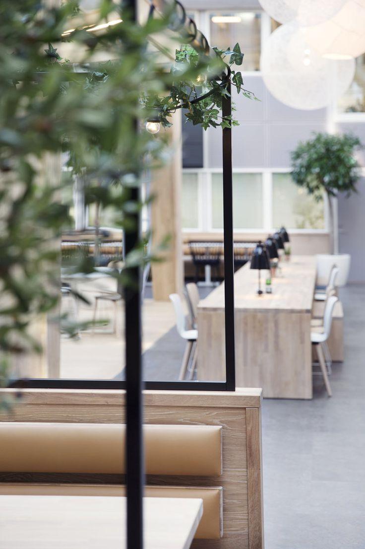 Skullerud Næringspark - Cafeteria Photo Credit: Yvonne Wilhelmsen