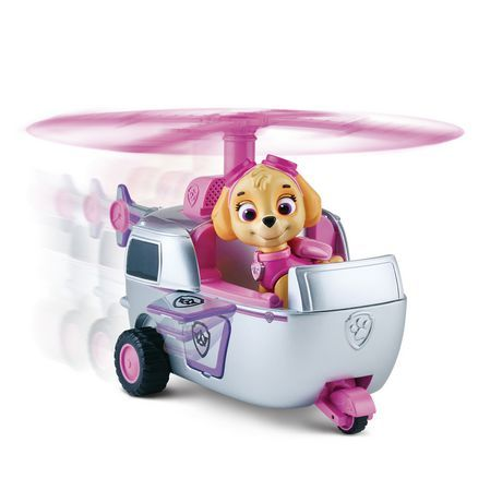 Nickelodeon, Paw Patrol - Skye's High Flying Copter available from Walmart Canada. Shop and save Toys at everyday low prices at Walmart.ca