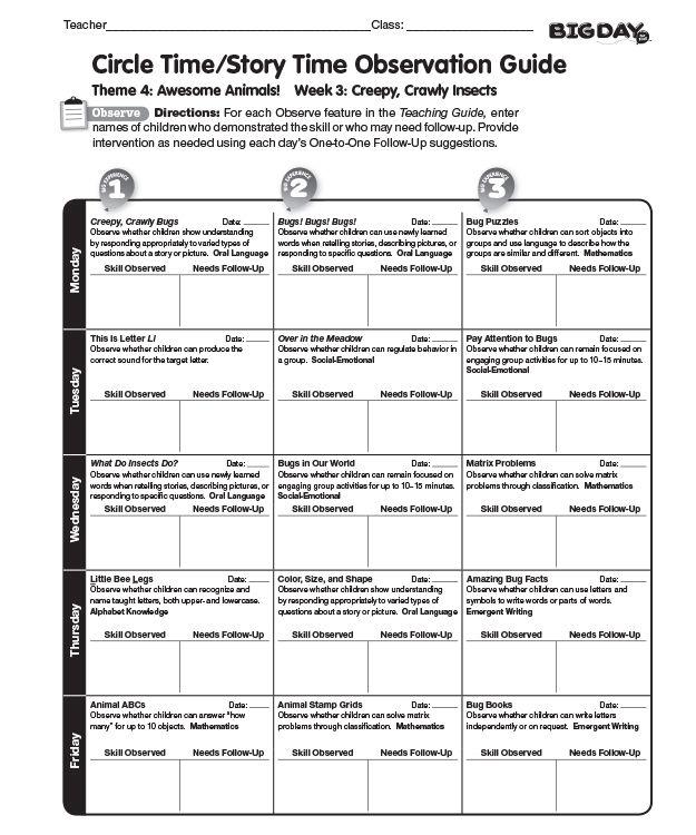 essay on teacher observation tools