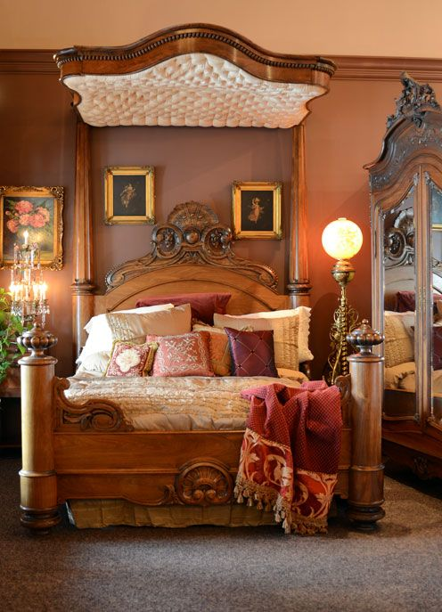 Furniture Antique Furniture Victorian Bed Victorian
