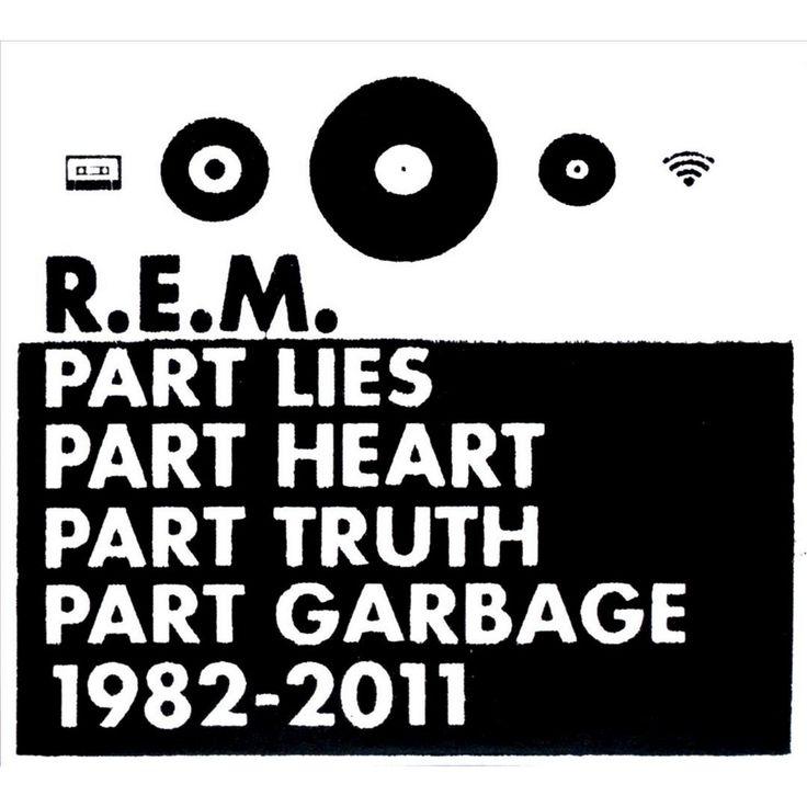 R.E.M. - Part Lies Part Heart Part Truth Part Garbage: 1982-2011 (CD)