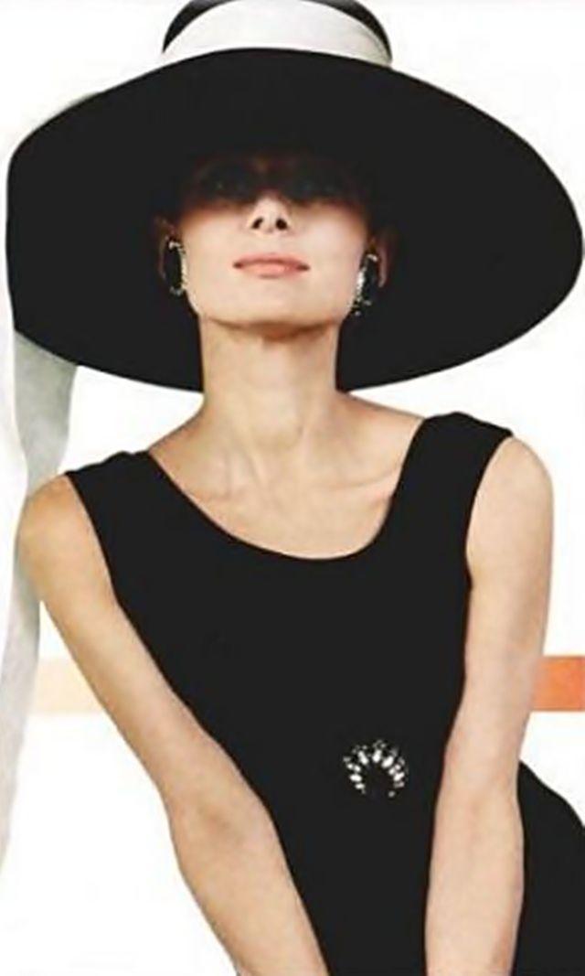 Audrey Hepburn (Breakfast at Tiffany's) She was so beautiful.