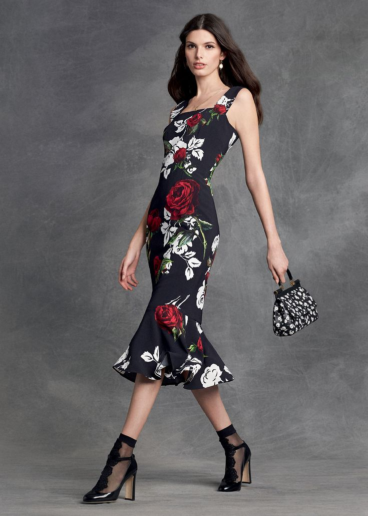 Dolce & Gabbana Women's Clothing Collection Winter 2016 ...