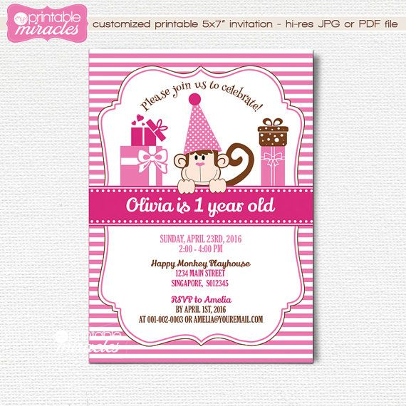 Best Birthday Party Baby Shower Bachelorette Ideas DIY - Birthday invitation cards singapore