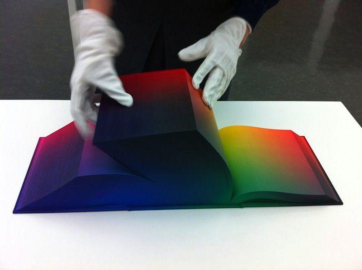 Flipping Through a Beautiful Rainbow Book - My Modern Metropolis