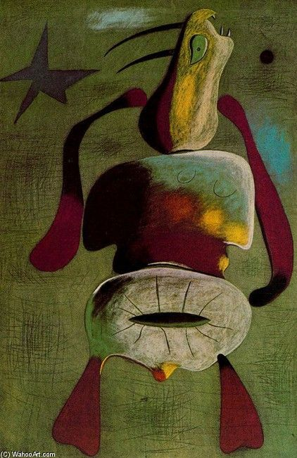 Joan Miro >> Mujer